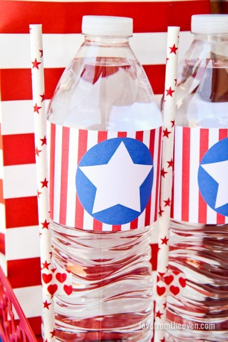 Red White And Blue Fourth Of July Party