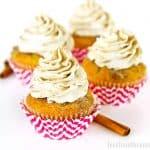 Cinnamon Vanilla Bean Cupcakes