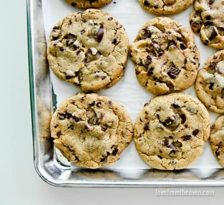 Brown Butter And Sea Salt Chocolate Chip Cookies