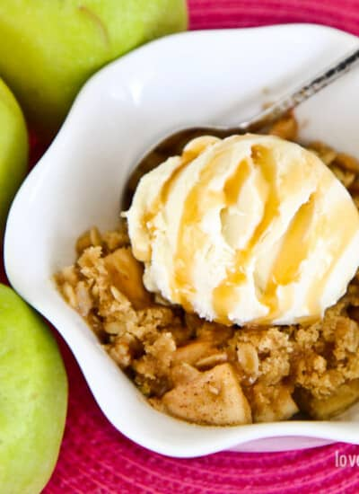 Recipe For Apple Crumble