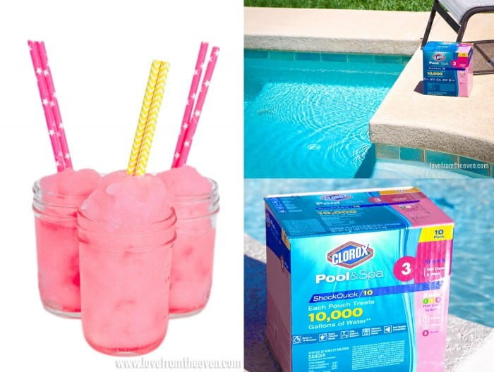 Easy Drinks And Easy Pool Care