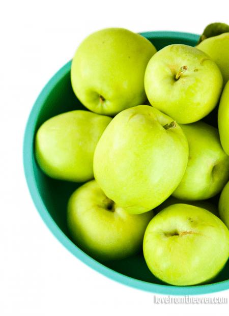 Fresh apples grown in Phoenix