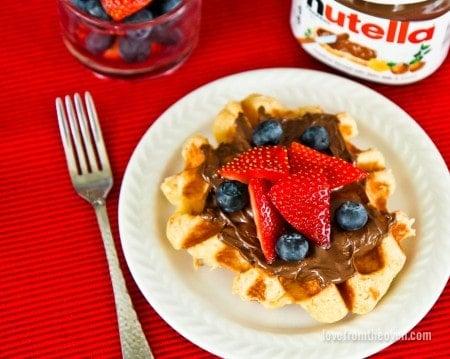 Liege Waffles