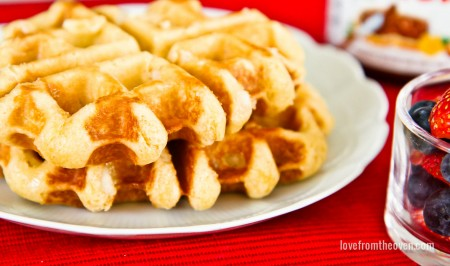 How To Make Liege Waffles