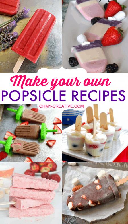Make Yor Own Popsicles