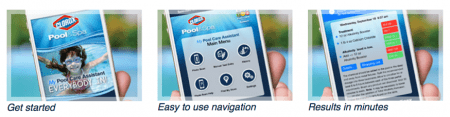Pool Water Testing App from Clorox