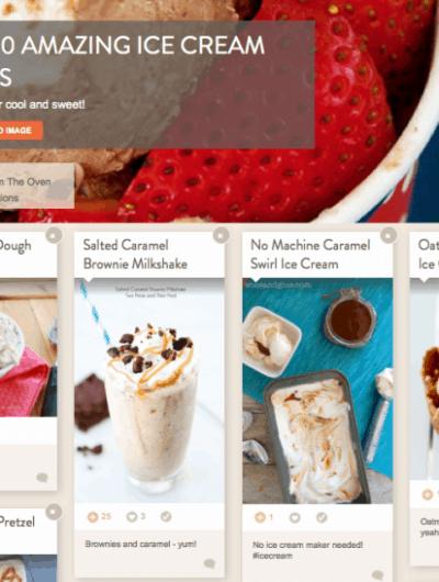 Ice Cream Recipe Ideas
