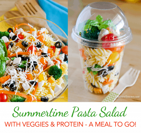 Summertime Pasta Salad To Go