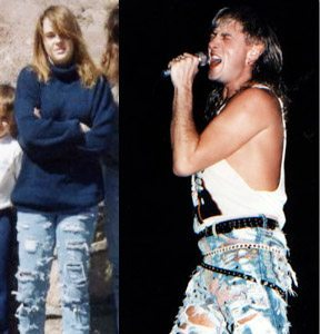 80s Ripped Jeans