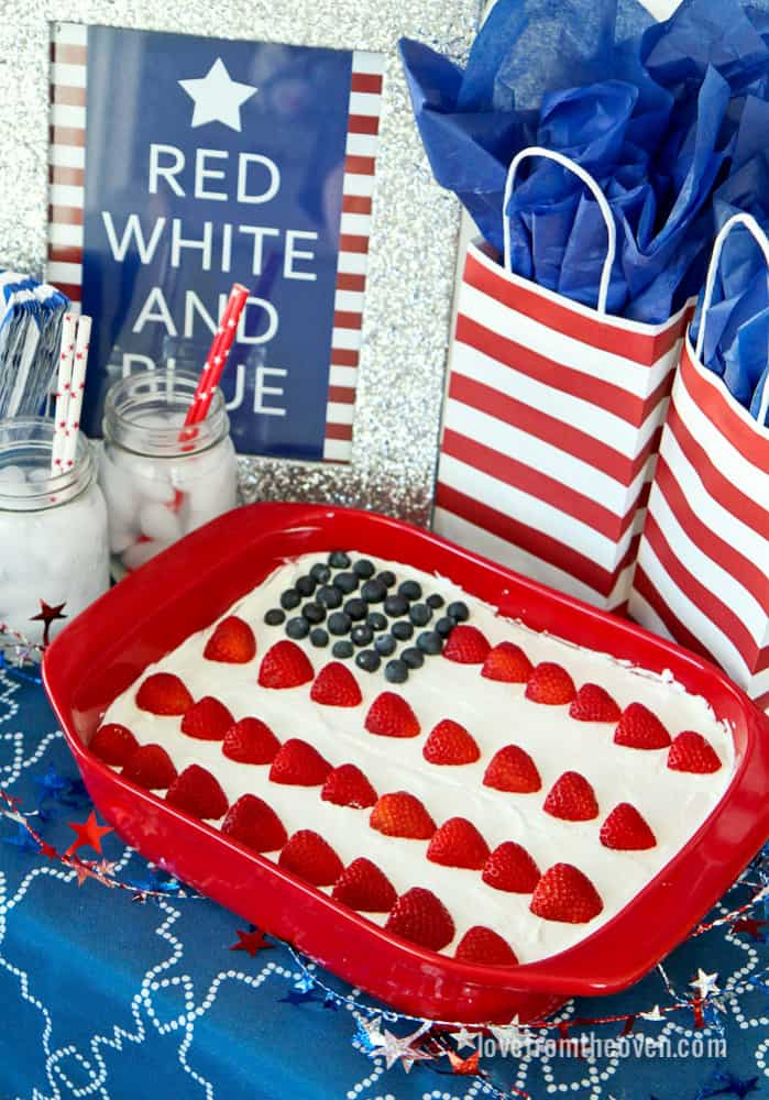 Wave Your Flag Cake