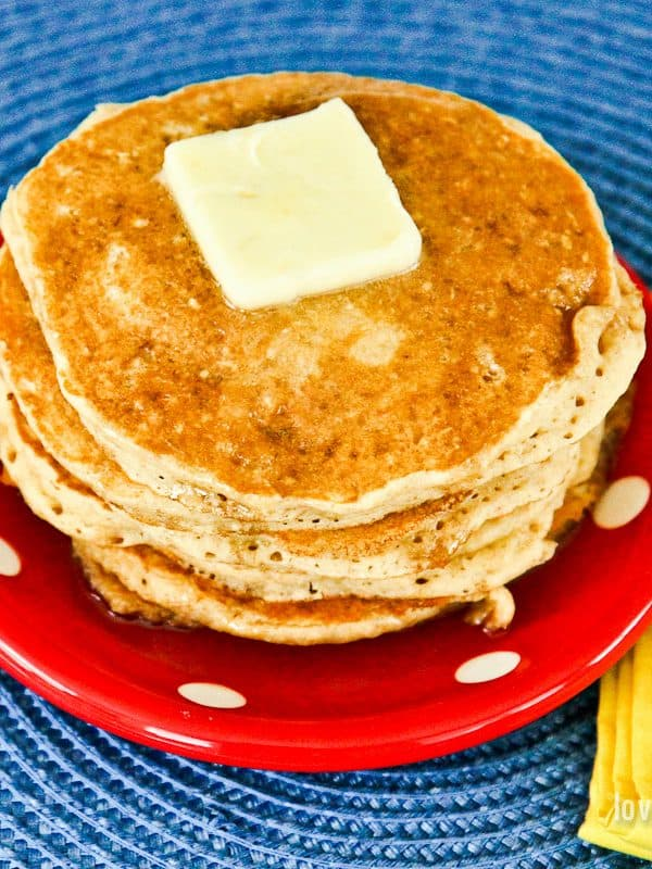 Easy Whole Wheat Pancake Recipe