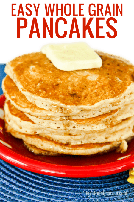 Easy Whole Wheat Pancake Recipe
