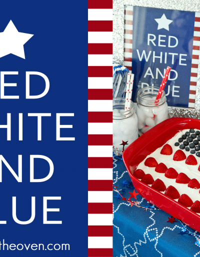 Free 4th Of July Red White And Blue Printable