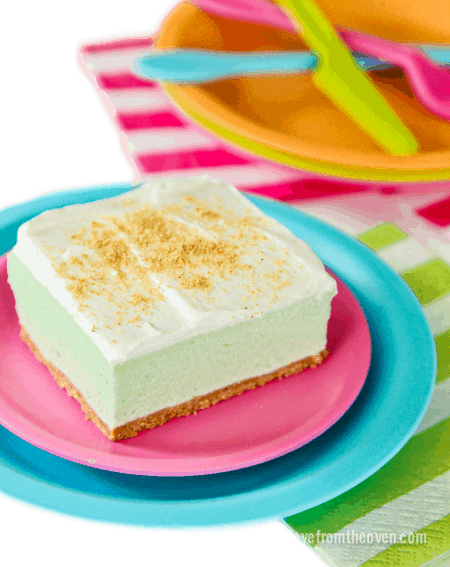 Key Lime Cloud Squares