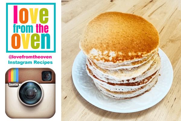 Instagram Recipes – Easy Healthy Pancakes