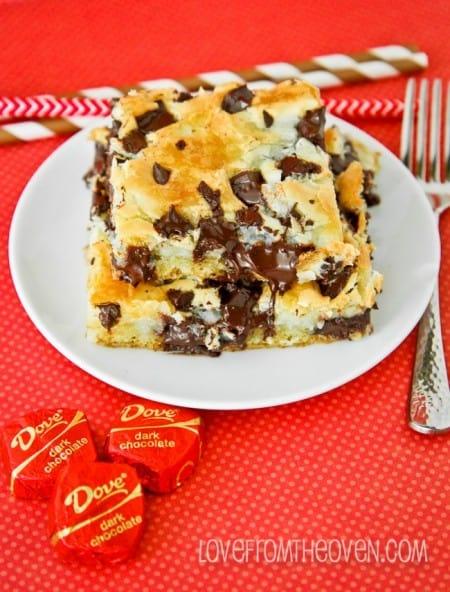 Chocolate Chunk Cream Cheese Cake Recipe