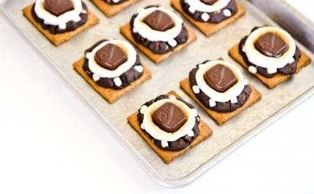S'mores Cookies at lovefromtheoven.com
