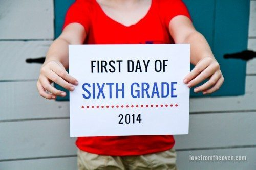 b2014afcd Back To School - That's My Kid • Love From The Oven