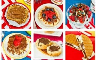 So many delicious ways to enjoy Nutella