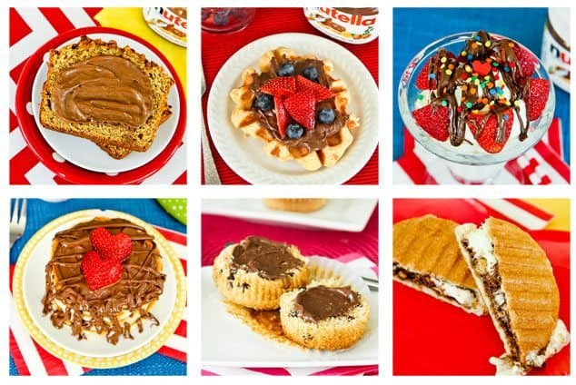 So many delicious ways to enjoy Nutella