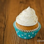 Pumpkin Cupcakes With Cinnamon Sugar Frosting
