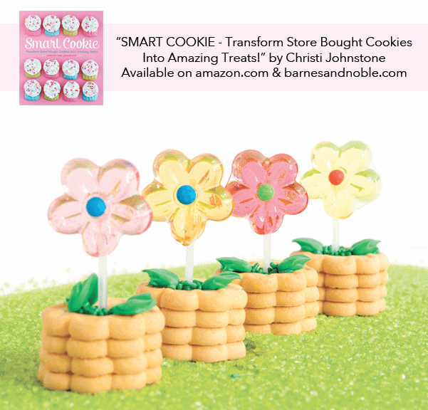 Smart Cookie Cookbook - Fun Flower Cookies