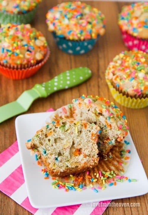 Sprinkles Muffins