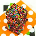 Halloween One Bowl Brownies