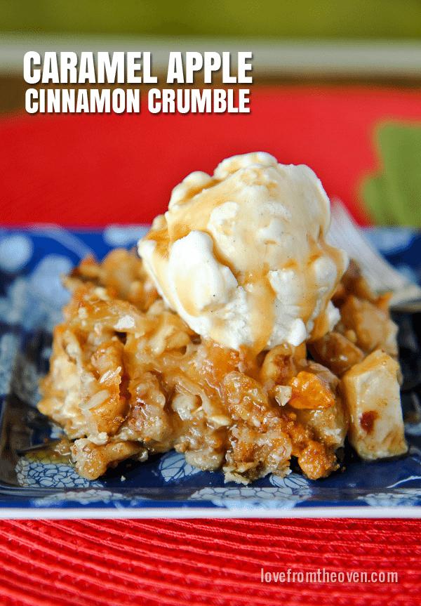 Caramel Apple Crumble Recipe