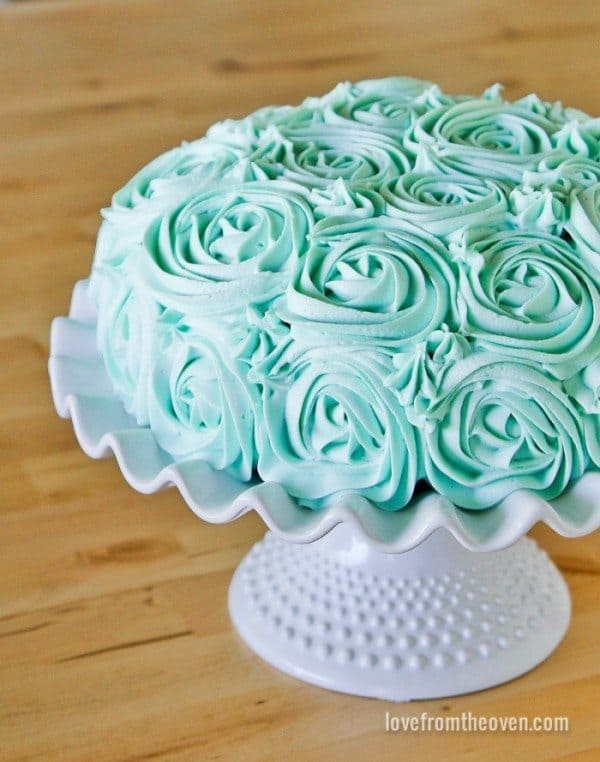 Easy Rose Cake