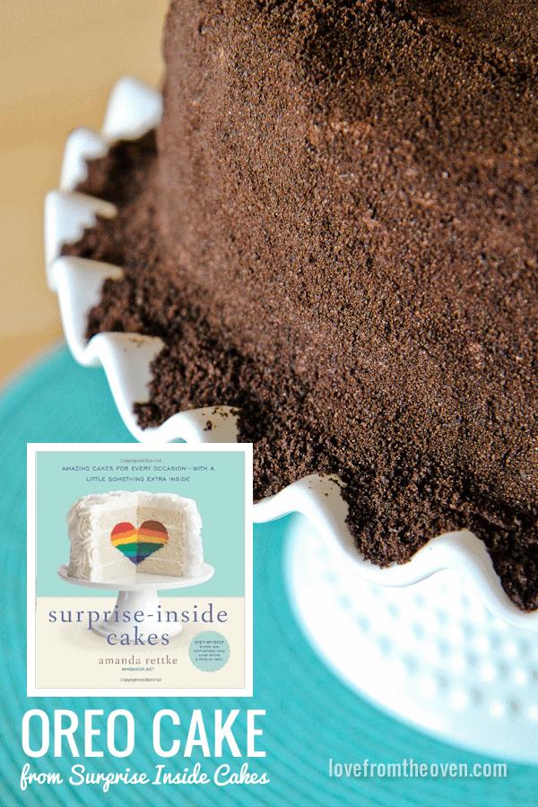 Oreo Cake Recipe From Surprise Inside Cakes