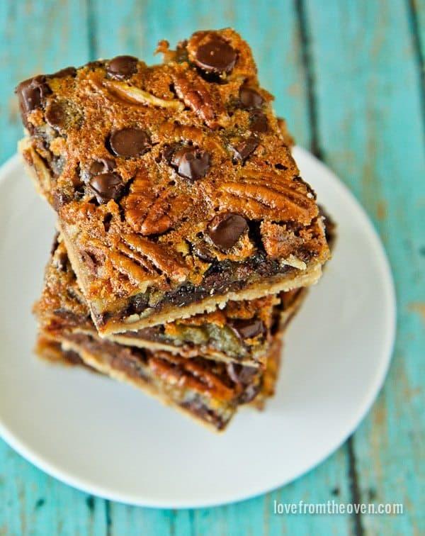 Recipe For Chocolate Chip Pecan Pie Bars