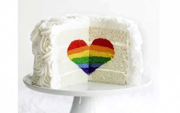 Rainbow Cake From Surprise Inside Cakes