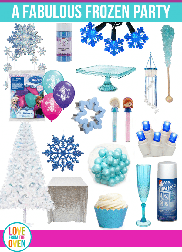 Winter is a fantastic time to stock up on Frozen Party supplies and ideas.