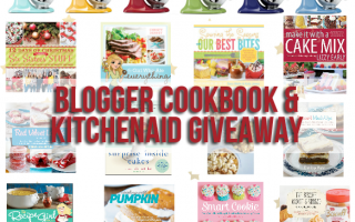 Blogger Cookbook And KitchenAid Giveaway
