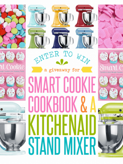 KitchenAid Stand Mixer & Smart Cookie Cookbook Giveaway