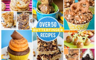 Over 50 Recipes Using Butterfingers