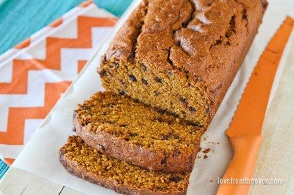 Good Old Fashioned Pumpkin Bread