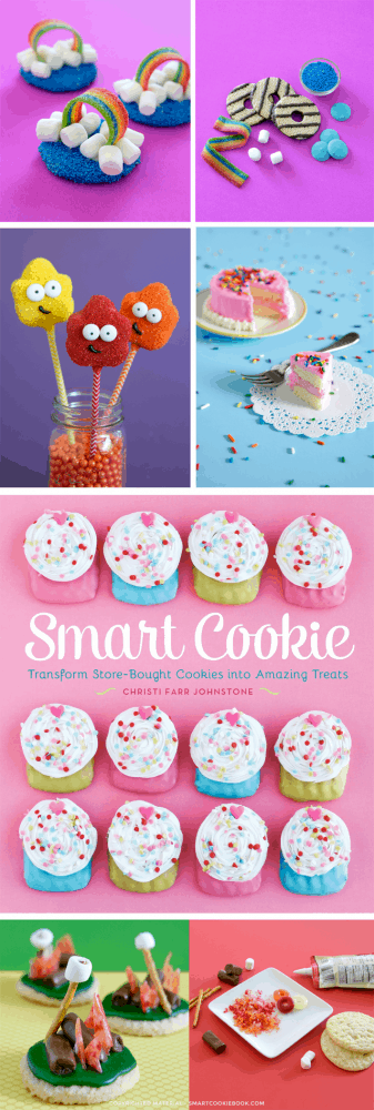 Smart Cookie Cookbook.  Transform Store Bought Cookies Into Amazing Treats!  So many fun and EASY ideas!  By Christi Johnstone of Love From The Oven
