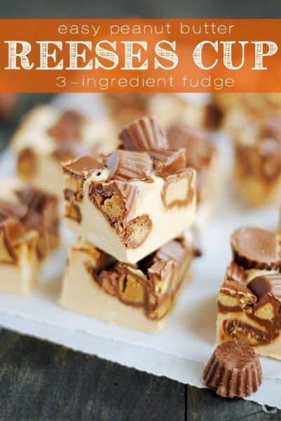 Peanut Butter Cup Fudge