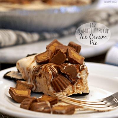 Peanut Butter Cup Ice Cream Pie