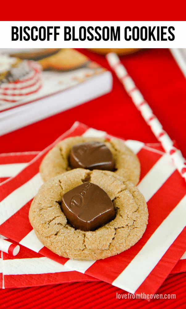 Biscoff Blossom Cookies