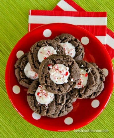 Chocolate Thumbprint Cookie Recipe