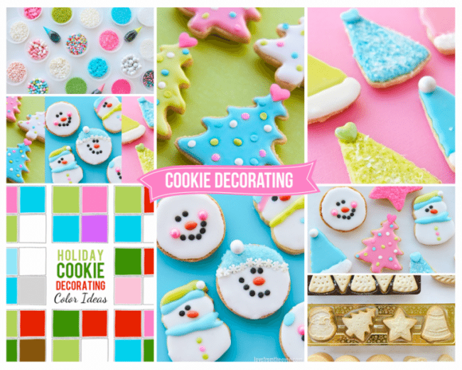 Tips for fun and easy Christmas Cookie decorating.