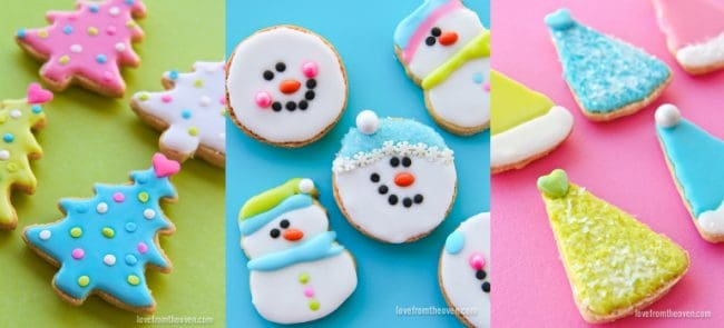 Easy ideas for decorating Christmas Cookies.  sc 1 st  Love From The Oven & Christmas Cookie Decorating Tips For Holiday Baking