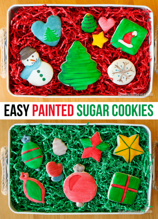 How To Paint Sugar Cookies