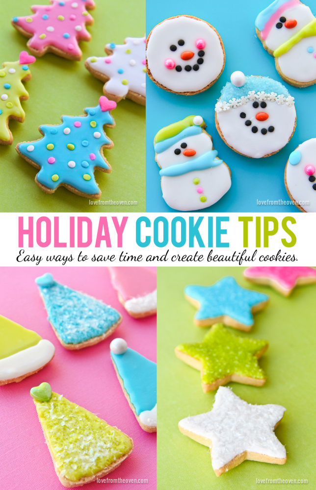 Holiday Cookie Tips From Love From The Oven.