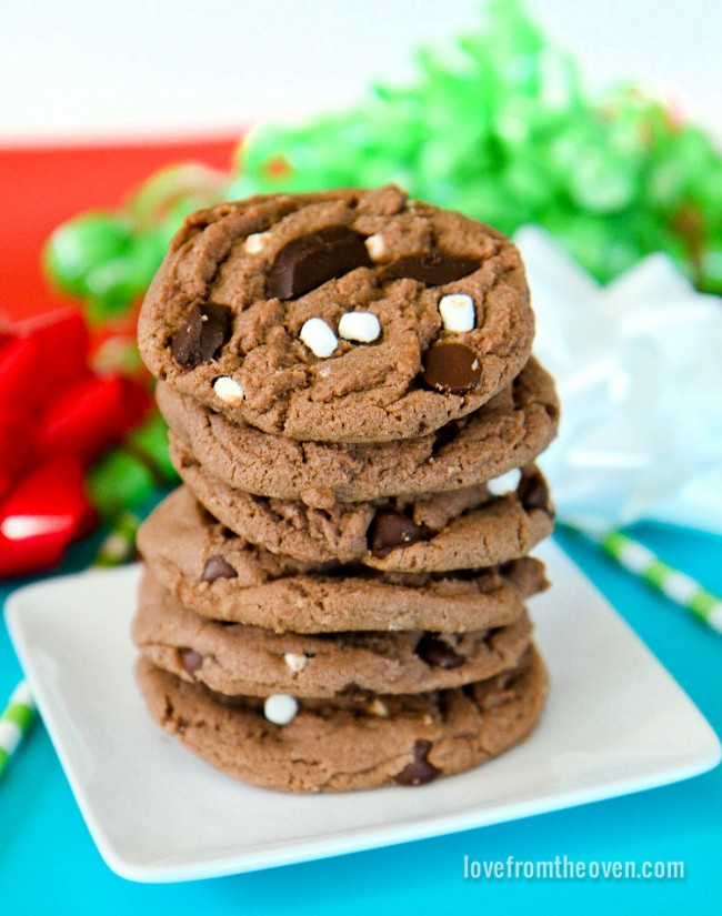 Hot chocolate cookies love from the oven hot cocoa cookie recipe forumfinder Choice Image