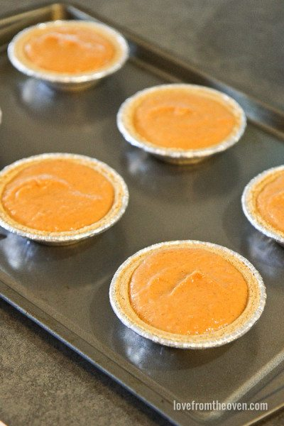 Mini Pumpkin Pie Recipe