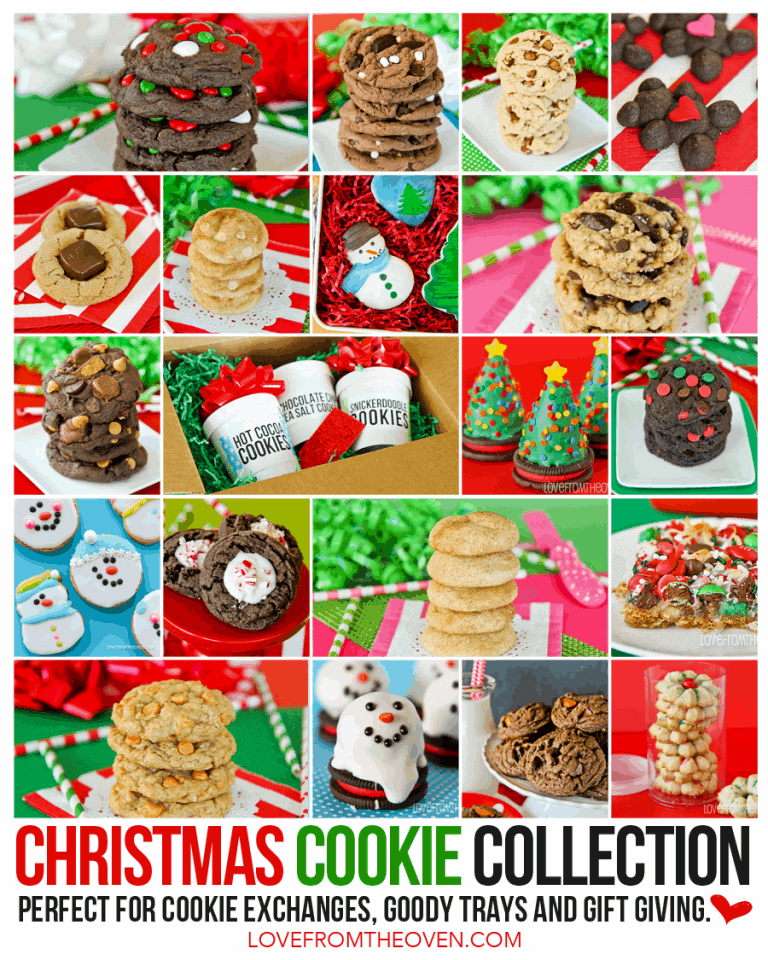Christmas Cookie Exchange Love From The Oven